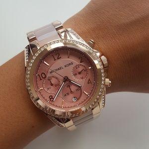 NEW MICHAEL Kors Rose Gold Ladies Watch MK5943 NWT